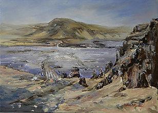 Obrazy - Modrý Island - 13020130_