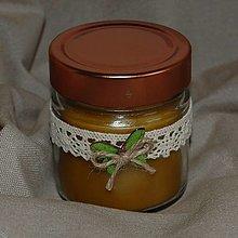 Svietidlá a sviečky - Sviečka v strednom sklenom poháriku - 13023335_