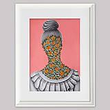 Grafika - I smelt flowers at Susan`s garden grafika - 13024148_