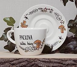 Nádoby - Šálka na kávu HUBY - 13022705_