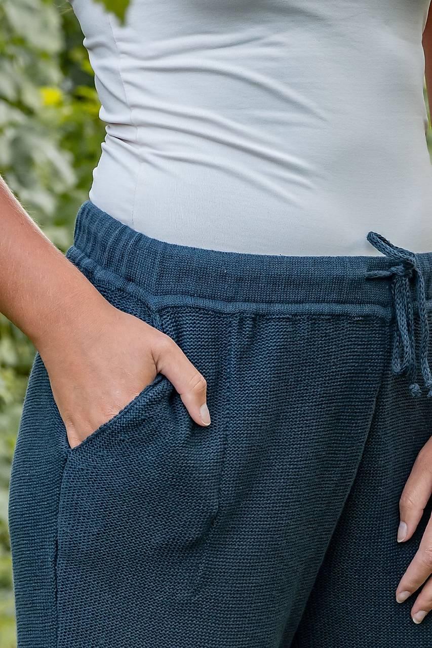 Pletené šortky NINA 70 % bavlna + 30 % ľan