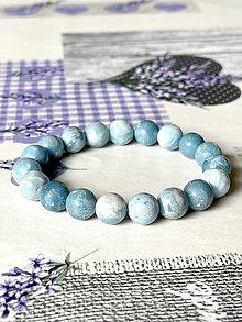 Náramky - Natural Pectolite Bracelet / Elastický náramok pektolit - 13027533_