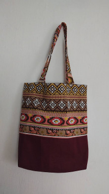 Nákupné tašky - Taška - indiánka - 13024584_