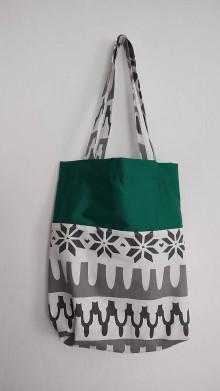 Nákupné tašky - nákupná taška - smaragdová krása - 13026869_