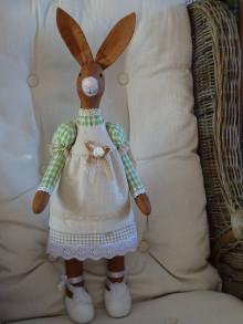 Bábiky - Zajačica zelenohnedá - 13025069_
