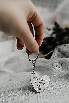 Kľúčenky - Kľúčenka s vlastným textom - 13028023_