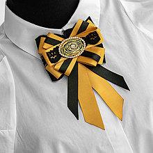 Odznaky/Brošne - Exkluzívna brošňa MICHAELA - 13028499_