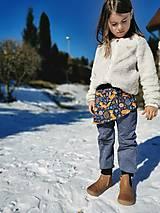 Detské súpravy - Sukničkové softshellové nohavice - 13029047_