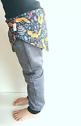 Detské súpravy - Sukničkové softshellové nohavice - 13029051_