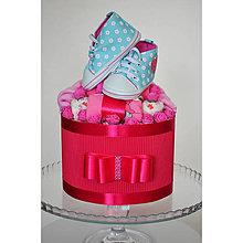 Detské doplnky - Plienková torta BOX - 13025440_