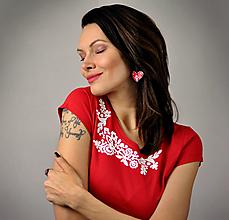 Tričká - Tričko Lina Red - 13028692_