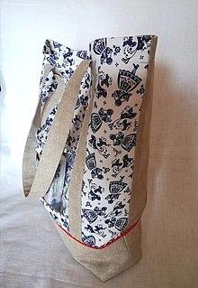 Nákupné tašky - Nákupná taška - ľudové dievčatá - 13024495_
