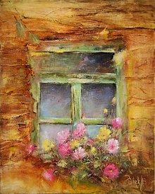 Obrazy - Staré okno... - 13026562_