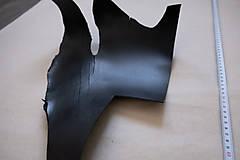Suroviny - Zbytková hladenica čierna 2mm - 13028138_