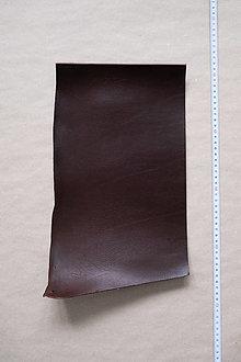 Suroviny - Zbytková hladenica tmavohnedá 2–2,5 mm (kus č. 9) - 13025292_
