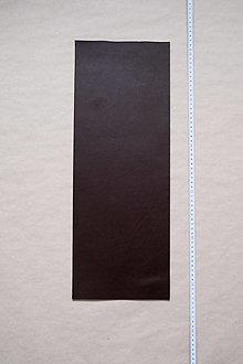 Suroviny - Zbytková hladenica tmavohnedá 2–2,5 mm (kus č. 15) - 13025311_