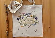 Nákupné tašky - taška HERBARIUM * JAR I. - 13027344_