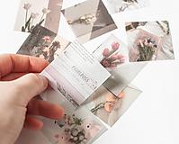 """Papier - Washi nálepky - set journal """"retro"""" - 13025656_"""