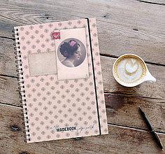 Papiernictvo - MADEBOOK špirálový zápisník A5 - RETRO - 13032824_