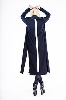 Mikiny - FNDLK dlouhá mikina na zip 495 RRdpzS s límcem - 13031577_