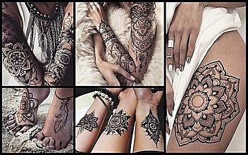 Iné doplnky - OSOBNÁ MANDALA-originálny návrh na tetovanie,tvorba na mieru - 13030655_