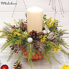 Dekorácie - Jarná dekorácia - 13031760_
