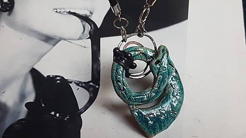 Náhrdelník,  Cínovaný Had