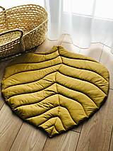 Úžitkový textil - Detská podložka list - 13029404_