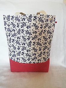 Nákupné tašky - Nákupná taška veľká - ľudové dievčatá 2 - 13029375_