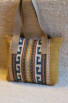 Veľké tašky - Tkaná taška - indián - 13031675_
