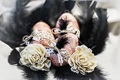 Dekorácie - Elegantné veľkonočné vajíčka - 13029540_