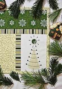 Úžitkový textil - Vianočné prestieranie No.32 :) - 13031219_