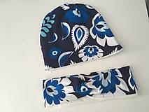 Čiapky - Damska ciapka a celenka - 13034501_