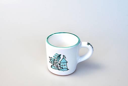 Šálka kávová s modranskou bránou