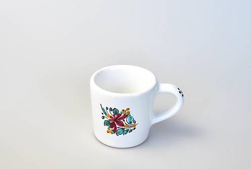 Šálka kávová s mini dekorom