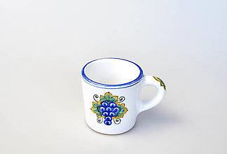 Nádoby - Šálka kávová s hroznom - 13038476_