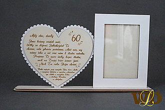 Dekorácie - Darček k jubileu pre deda - 13036844_