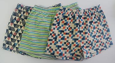 Oblečenie - Tri dámy - 3ks pánskych treniek biobavlna - 13037007_