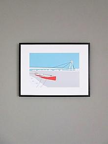 Grafika - Most SNP (print) - 13036430_