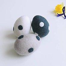 Dekorácie - Veľkonočné vajíčka bodky - 13037535_