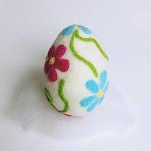 Dekorácie - Veľkonočné vajíčko veľké - 13037621_