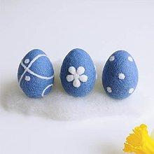 Dekorácie - Sada veľkonočných vajíčok - 13037686_