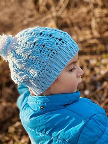 Detské čiapky - Jarná čiapka Matýsek (pre veľkáčov bez šnúrok) - 13037595_