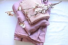 Úžitkový textil - Ľanové obliečky - výber zo 40 farieb - 13038531_
