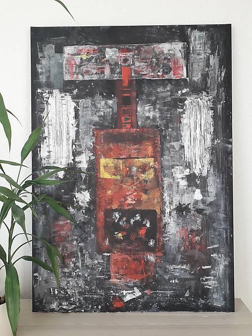 Abstraktný obraz 100x70