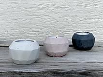 Svietidlá a sviečky - GeoFlamE Trio - 13036355_