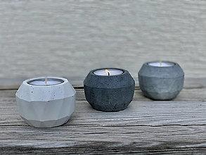 Svietidlá a sviečky - GeoFlame trio - 13036335_
