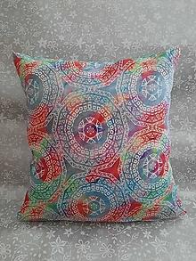 Úžitkový textil - Vankúš Mandala - 13043215_