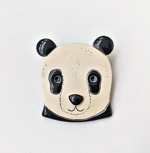 brošňa panda #2