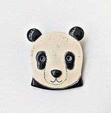 Odznaky/Brošne - brošňa panda #2 - 13039927_